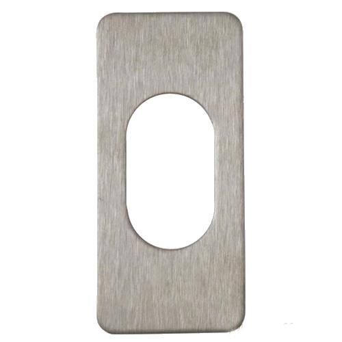 SOUBER SMALL STICK ON OVAL ESCUTCHEON