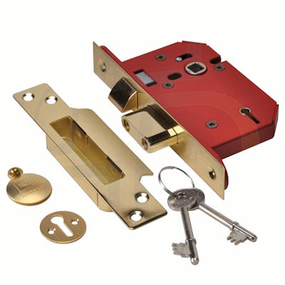 Union Strong 2205 Non BS 5 Lever Mortice Sashlock